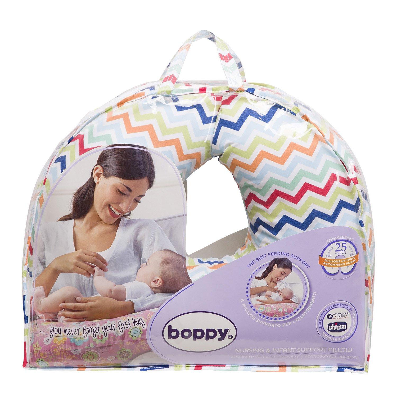 Amazon.com: Chicco Boppy forro de cojín lactancia en algodón ...