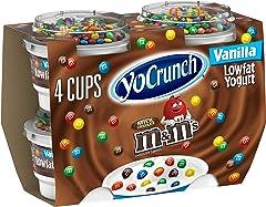 YoFarms Yo Crunch Vanilla M&M Yogurt, 4 oz