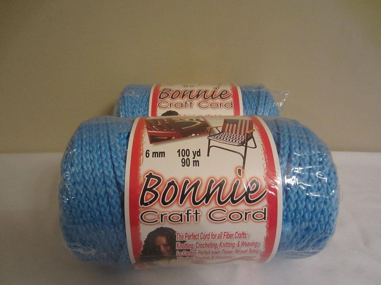 Bonnie Macrame Craft Cord 6mmx100yd-Ocean Pepperell