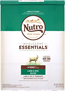 NUTRO WHOLESOME ESSENTIALS Adult Lamb & Rice Recipe Dry Dog Food