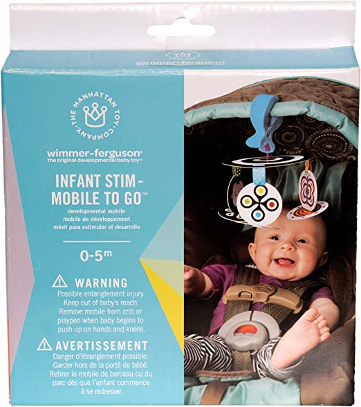 Discontinued by manufacturer Manhattan Toy Wimmer-Ferguson Infant Stim-Mobile for Cribs