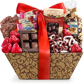 Amazon Com Golden State Fruit Valentine Chocolate Galore Gift