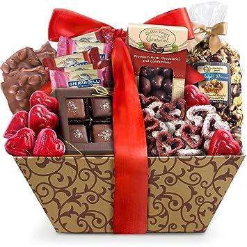 Amazon Com Golden State Fruit Valentine Chocolate Galore Gift