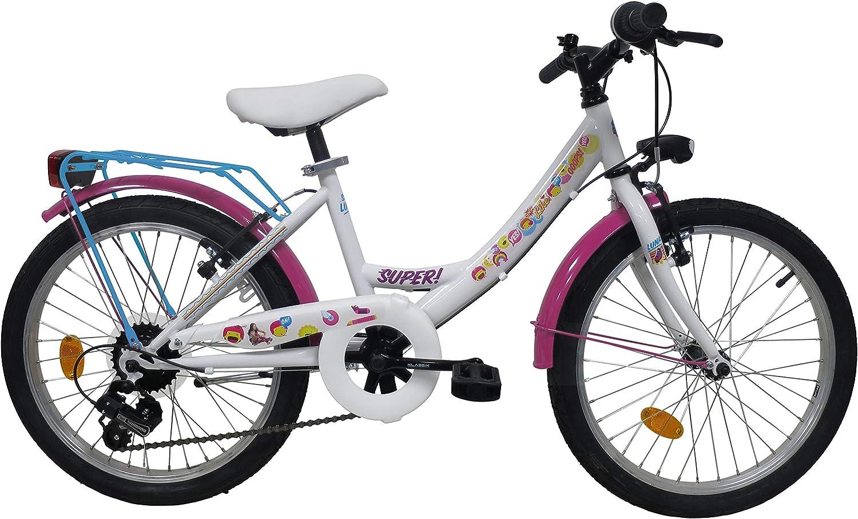 Soy Luna - Vélo Soy Luna 20 pouces fille 5 vitesses avec garde ...