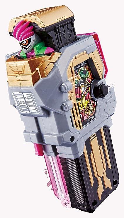 Amazon Com Bandai Kamen Rider Ex Aid Dx Maximum Mighty X Gashat Toys Games