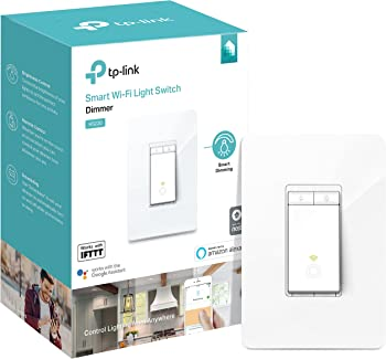 TP-Link Kasa HS220 Smart Wi-Fi Light Switch with Dimmer