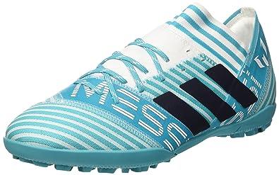 6bc3dc178 Adidas Men's Nemeziz Messi Tango 17.3 Tf Ftwwht/Legink/Eneblu Football Boots  - 9