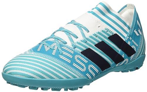 678d4c362584 Adidas Men s Nemeziz Messi Tango 17.3 Tf Ftwwht Legink Eneblu Football  Boots- 10