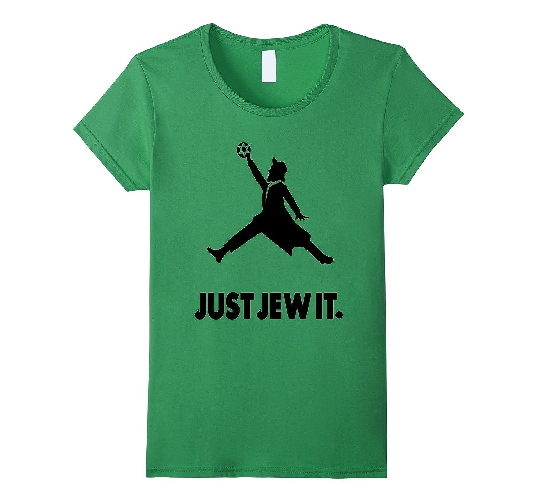 Mens Just Jew Jewish shirt-Tovacu