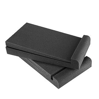 #2 Tappetino per Altoparlante 8 Pezzi 25 x 4 mm Supporto Universale in Rame per Shock Base di Isolamento Cuscinetto per Piedini Tappetino Supporto per diffusore da Pavimento