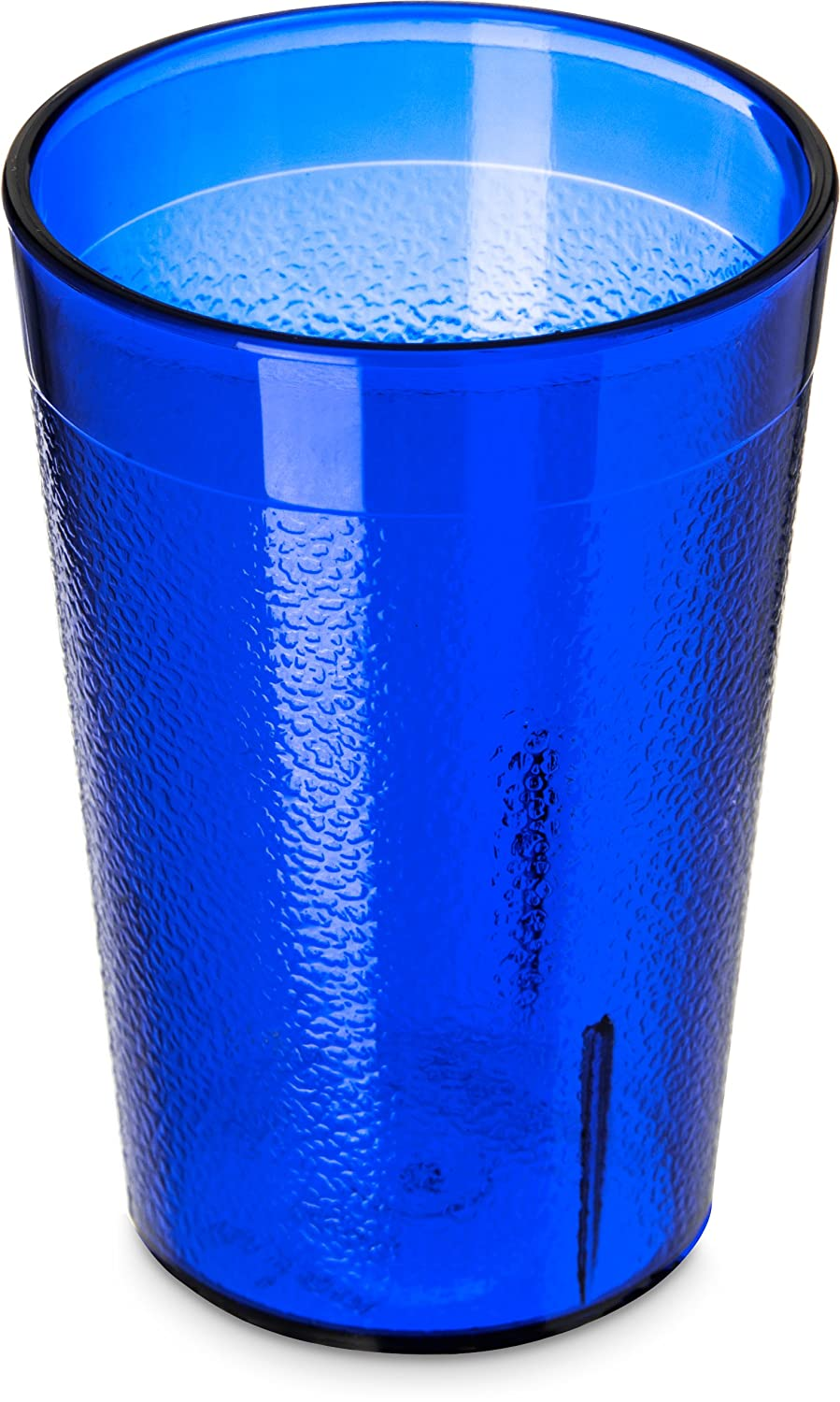 Carlisle 5526-8147 BPA Free Plastic Stackable Tumbler, 8 oz., Royal Blue (Pack of 6)