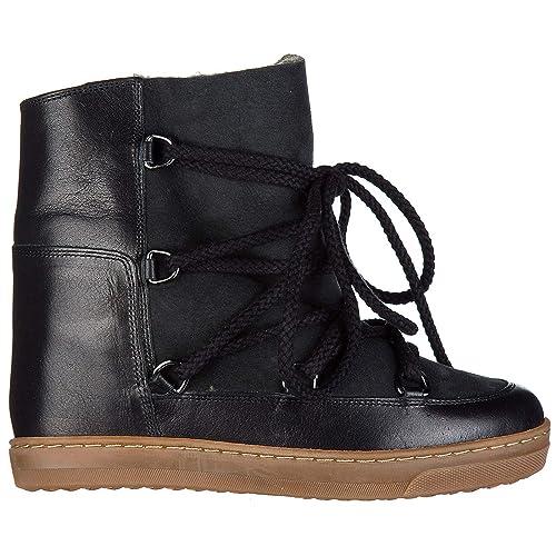 wholesale online san francisco super specials Isabel Marant Women Ankle Boots Nero 2 UK: Amazon.co.uk ...