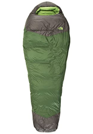 The North Face Green Kazoo Saco de Dormir, Cierre Derecho, Unisex Adulto, Verde (grnrpstrs/aspgy), Regular-RH: Amazon.es: Deportes y aire libre