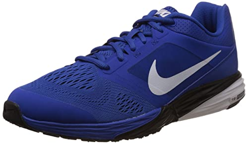 new style fd995 916c7 Nike Men s Tri Fusion Run MSL Game Royal, White and BlackRunning Shoes -11  UK