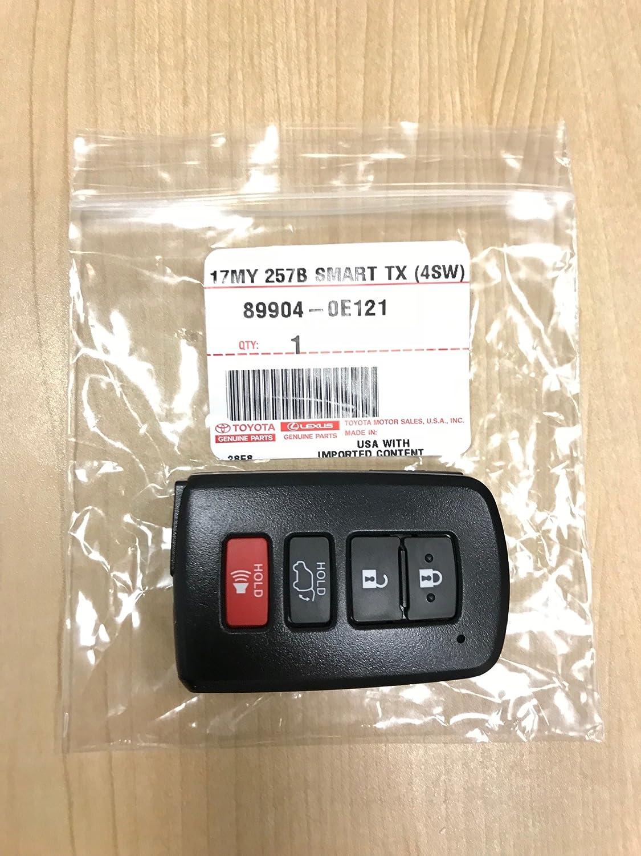 Genuine Toyota Highlander Smart Key 89904 0e120 Oem 20072008 Infiniti G35 Keyless Entry Remote Dealer Program Transmitter 2014 2015 Hybrid
