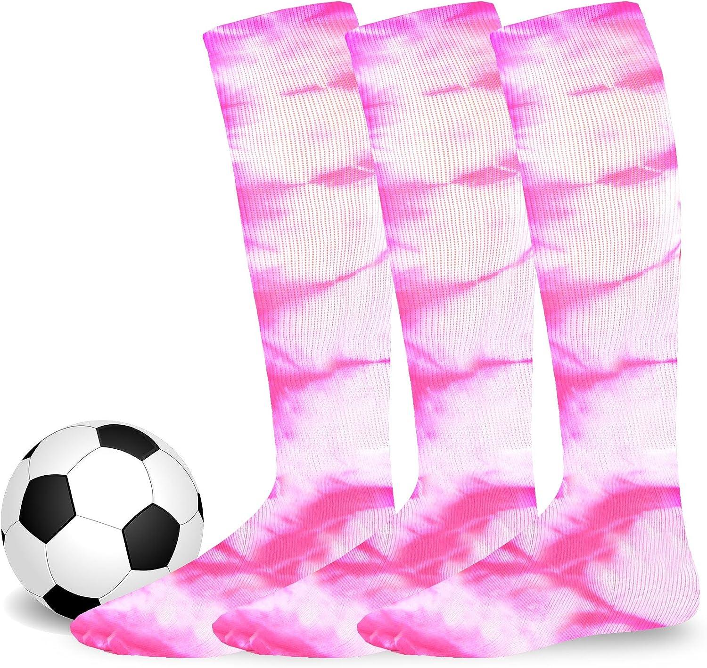 Athletic Team Sports Socks Cotton Unisex Soccer Socks 3 Pack