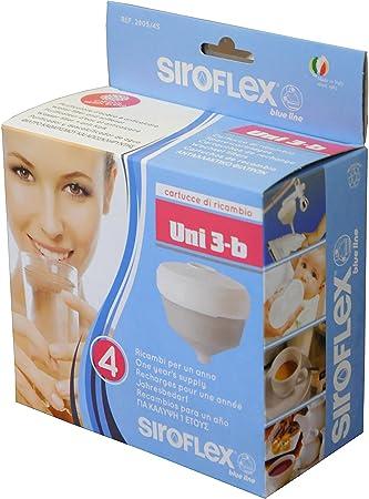 Siroflex 2805/4S - Juego de 4 cartuchos de repuesto UNI 3-B ...