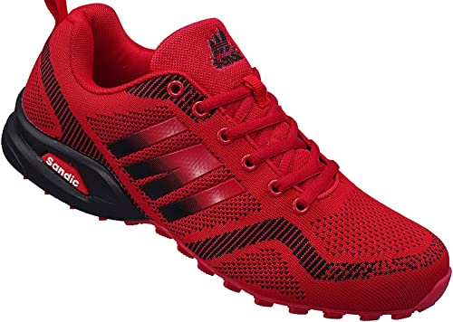Herren Sportschuhe Sneaker Turnschuhe Schuhe Gr.41 46 Art. Nr.2941 rot