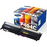 Samsung CLT-P404C  Cartuccia Toner e Laser, 1000 pagine, Colore Nero, Ciano, Giallo