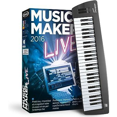 MAGIX Music Maker 2016 Control- Software De Edición De Audio/Música