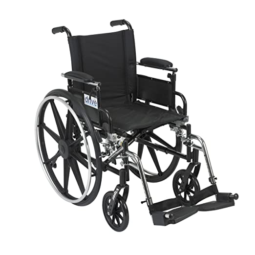 Amazon Com Drive Medical Viper Wheelchair With Various Flip Back