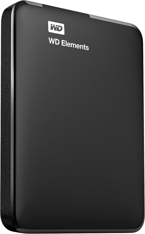 WD Elements Portable - Disco duro portátil de 750 GB (USB 3.0), color negro