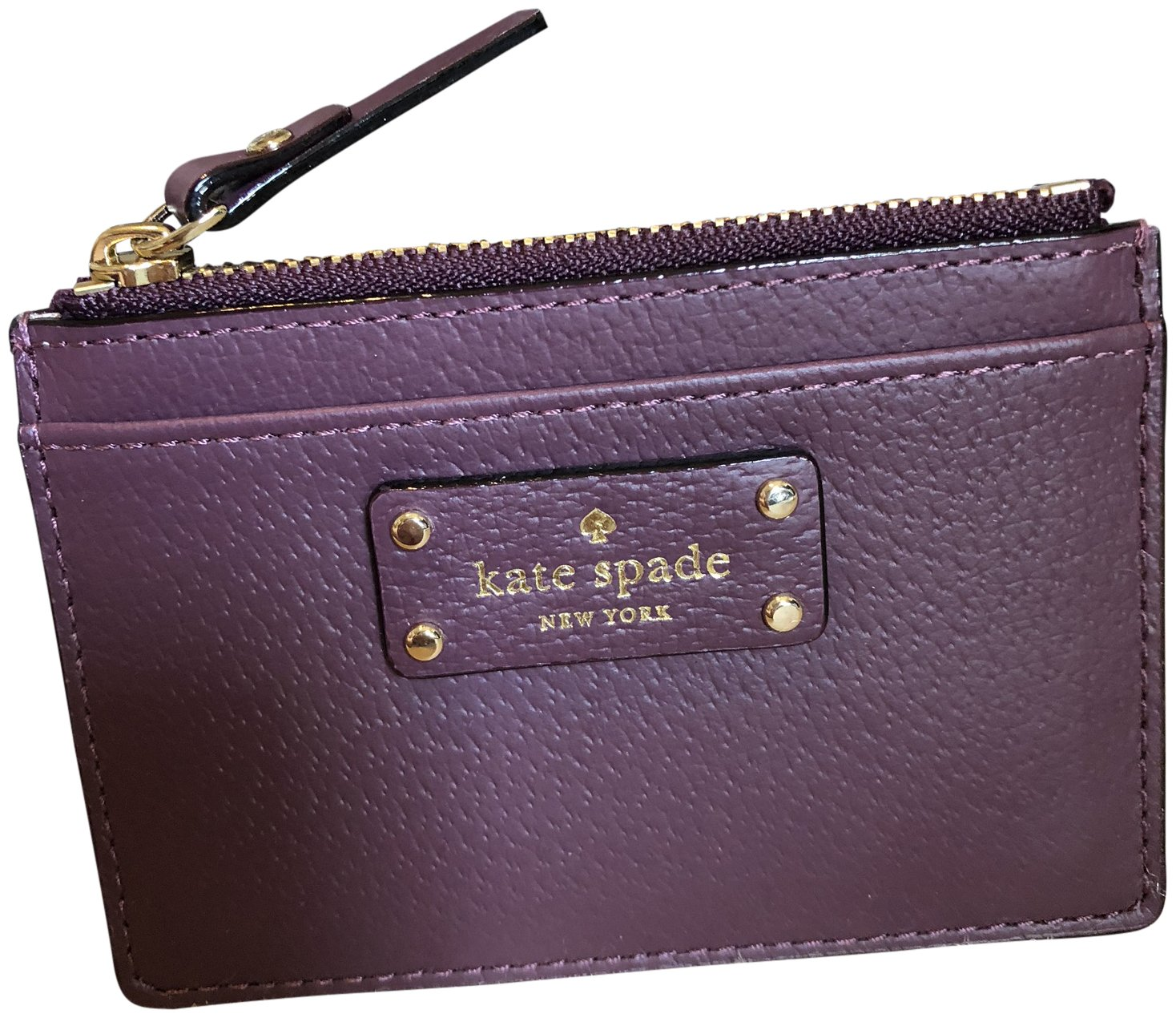 Kate Spade Grove Street Adi Wallet Coin Purse Business Credit Card Holder Case Deepplum