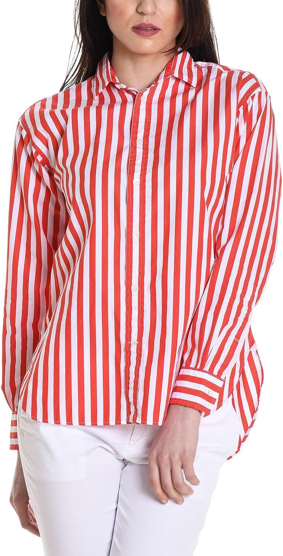 Ralph Lauren Camisas - para Mujer Rojo 34: Amazon.es: Ropa y accesorios