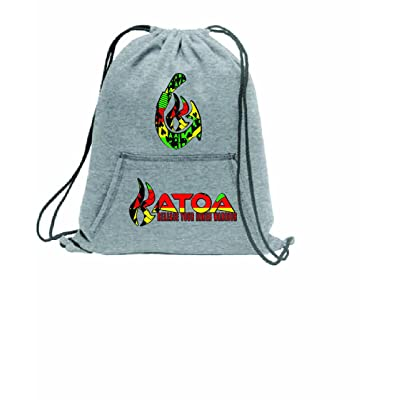 well-wreapped Rasta Lion with Dreads and Headphones Drawstring Gym Bag Sneaker Bag