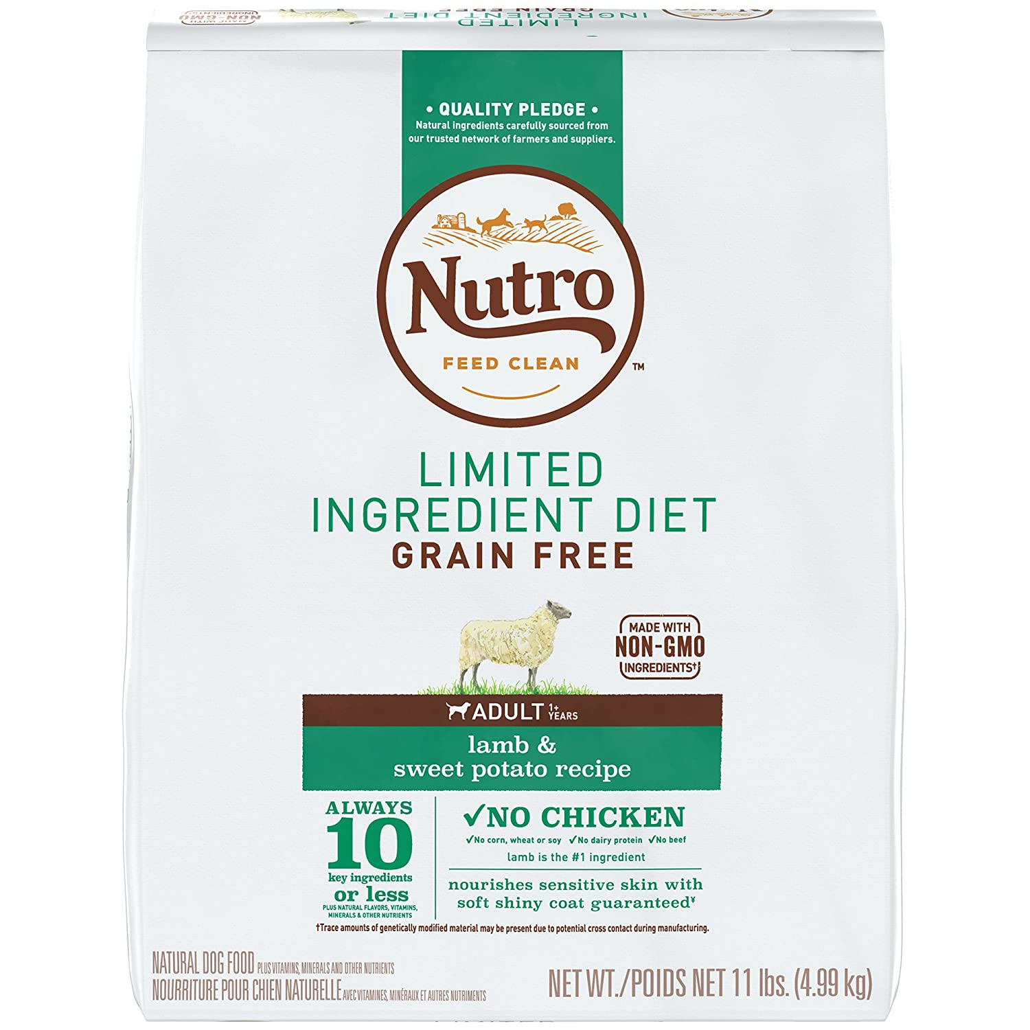 NUTRO LIMITED INGREDIENT GRAIN-FREE DRY DOG FOOD