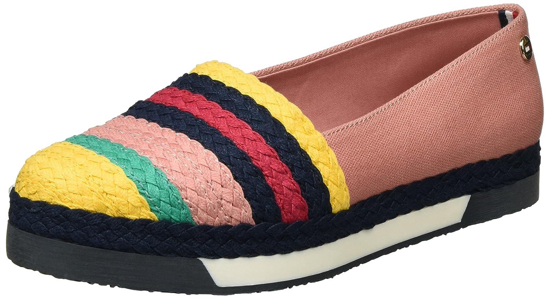 Tommy Hilfiger Y1285ork 1s, Mocasines para Mujer, Rosa (Rose Dawn-Old Gold 901), 41 EU: Amazon.es: Zapatos y complementos