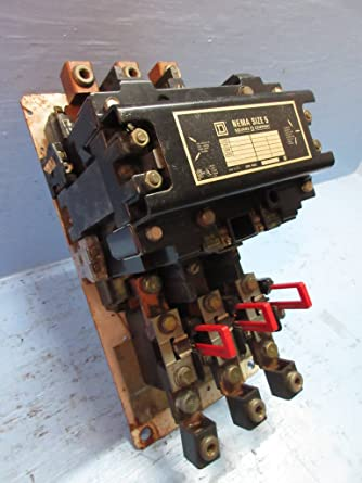 Square D Size 1 Motor Starter With 240volt Coil-type 8536