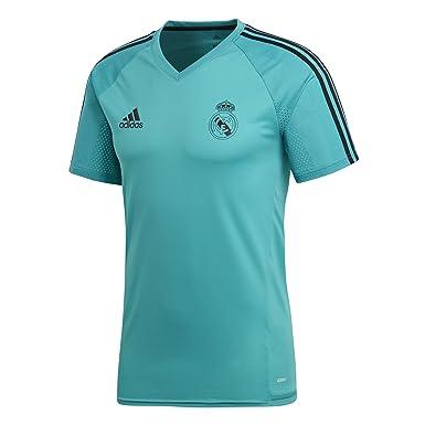 adidas Real Madrid Camiseta de Entrenamiento, Hombre: Amazon.es ...