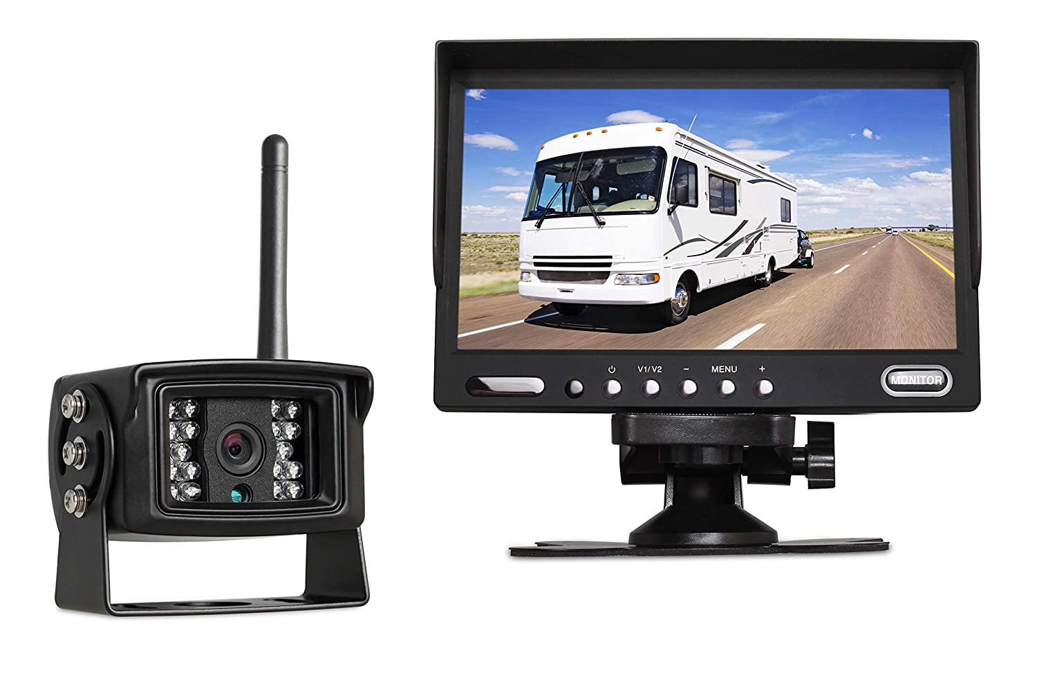 Auto-Vox Digital Wireless Backup Camera System MW3 with 7