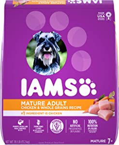 IAMS Senior Dry Dog Food, Chicken, All Breed Sizes