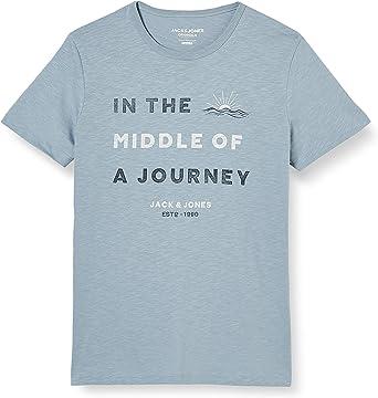 Jack & Jones Jorcreator tee SS Crew Neck Camiseta para Hombre: Amazon.es: Ropa y accesorios