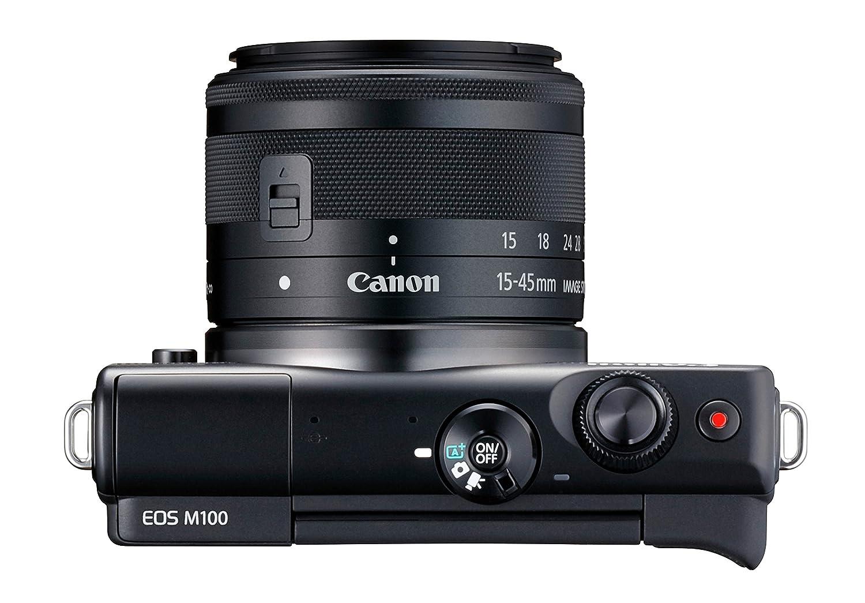 5ca747c6f36008 Canon EOS M100 Appareil photo hybride + EF-M 15-45mm F 3.5-6.3 IS STM   Amazon.fr  Photo   Caméscopes
