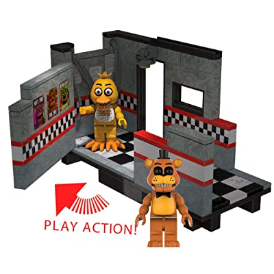 McFarlane Toys Five Nights at Freddy's East Hall Medium Construction Set: Toys & Games