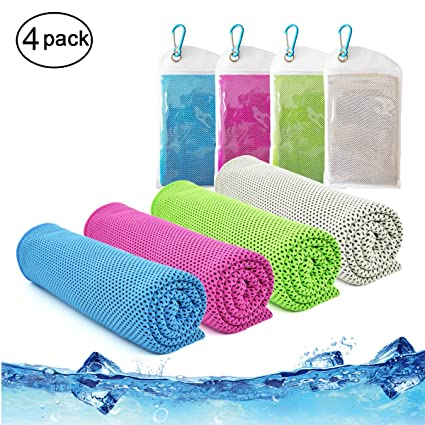 Amazon.com: vinsco toalla de enfriamiento, fresco toallas ...