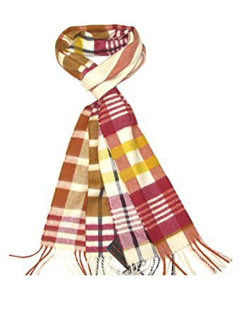 a394cf7f9 Cashmere Scarf for Women Yellow & Red - Ladies Pure Cashmere Scarves for  Winter