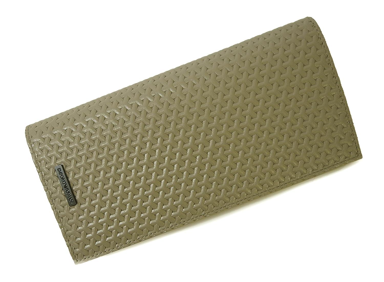 23330e7cde94 Amazon   [アルマーニ] 長財布 エンポリオアルマーニ 二つ折 (ベージュ) A-2116 [並行輸入品]   ARMANI(アルマーニ)    財布