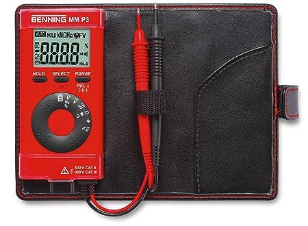 Benning MM P3 Digital Multimeter 4000 counts CAT II 600 V CAT III 300 V