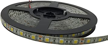 5m Super Bright 12V 2A 3528//5050 SMD LED Flexible Strip Home Decoration Light 8