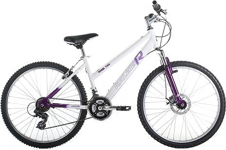 Raleigh TRA16LWH - Bicicleta de montaña para Mujer, Talla S (153 ...
