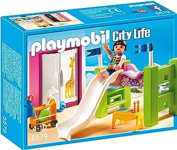 Playmobil 5579 kinderzimmer mit hochbett rutsche vos - Amazon kinderzimmer ...