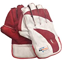 HeadTurners Cricket Wicket Keeping Gloves - College (Colour May Vary)