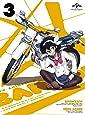 ばくおん!! 第3巻(初回限定版)(おりもとみまな描き下ろし透明スリーブケース&インナージャケット仕様) [Blu-ray]