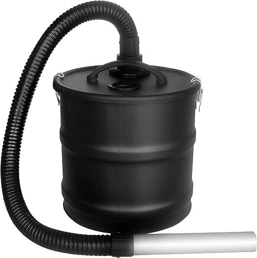 Kamino-Flam 337004 -Sistema de Filtro para aspirar cenizas de chimenea sin motor (18 L, 170 cm): Amazon.es: Jardín