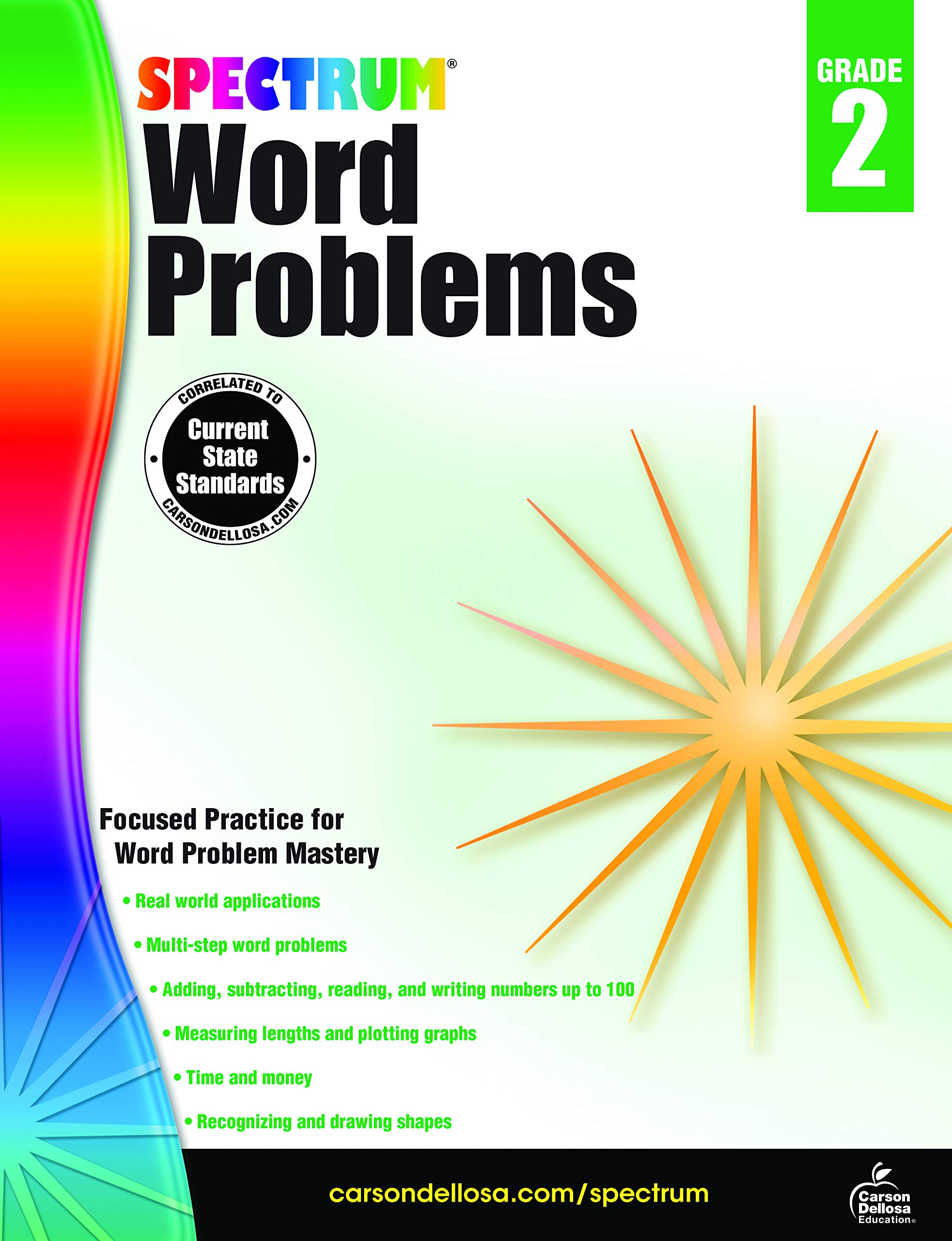 Word Problems, Grade 2 (Spectrum): Spectrum: 9781483804392