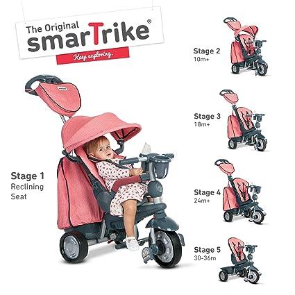 Tricycle Smart Trike Exp. Rouge 5 in1: Amazon.es: Bebé